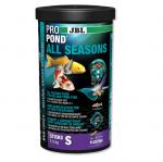 JBL ProPond All Seasons S - Всесезоненна храна за малки езерни риби - две разфасовки