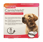 Beaphar Cani Shield - противопаразитен нашийник за кучета против кърлежи, бълхи и пясъчни мухи - два размера