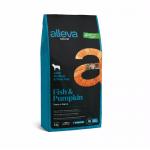 Пълноценна храна за възрастни кучета от средни и големи породи Alleva® Natural Adult Medium/Maxi, с риба и тиква, 2.00кг