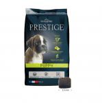 Храна за подрастващи кучета от всички породи, както и за женски кучета от всички породи в края на бременността или в периода на кърмене Flatazor Prestige Puppy, три разфасовки