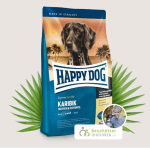 Храна за кучета Happy Dog Супер Премиум Карибик с Морска риба, картофи и банани -три разфасовки