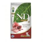 Храна за за подрастващи кучета от дребни породи N&D PRIME Puppy MiniChicken & Pomegranate, с пилешко месо и нар, 2.50кг