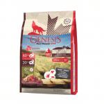 Храна за кучета Genesis Pure Canada Broad Meadow без птиче месо и негови производни, 80 % прясно месо от говеждо, див глиган и елен, три разфасовки