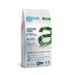 Пълноценна храна за подрастващи кучета от средни породи Alleva® Holistic Puppy Medium, с Океанска Риба + Коноп и Алое вера, 2.00кг