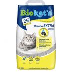 Котешка тоалетна с активен въглен без неприятна миризма Biokat's Bianco EXTRA classic, 5.00кг