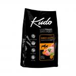 Храна за кучета от средни и едри породи Kudo Low Grain  Medium&Maxi Adult, с пуешко и патешко, 12.00кг