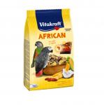 Основна ежедневна храна за големи папагали Vitakraft African, 750гр