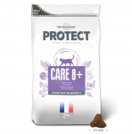 Пълноценна диетична храна за котки със специфични хранителни потребности на възраст над 8 години Flatazor Care 8+, 2.00кг