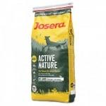 Josera ACTIVE NATURE - Пълноценна храна с висока концентрация на пилешко и агнешко месо, оптималната диета за активни и спортуващи кучета - 0.900кг; 15.00кг