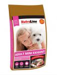 """""""Nutraline Dog Adult Mini Exigent"""" - Храна за капризни кучета от дребни породи"""