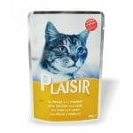 Пауч за котки Plaisir в сос Грейви - различни вкусове
