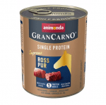 Консервирана храна за куче Animonda GranCarno SP Supreme Pure Horse, с един източник на протеин, с конско месо, 400гр