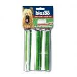 Лакомство за куче Biozoo - Пресован кокал с хлорофил и вкус на мента - 5бр