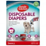 Памперси за женски кучета Simple Solution 12бр - различни размери