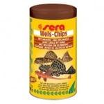 sera Wels-Chips за придънни рибки с върба и елша