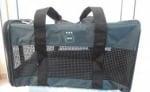 Чанта от плат за транспорт на кучета, котки и други - цвят тъмно зелен