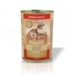 Храна за котки месо в сос Mr. Biffy, 415 гр, различни вкусове