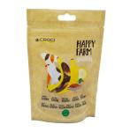 Лакомство за куче Croci HAPPY FARM, патешко месо и банан, 80гр
