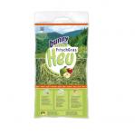 Сено за гризачи от свежа трева с ябълки Bunny FreshGrass Hay Apples, 500гр