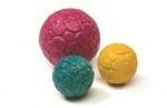 Скачаща топка с меко ядро от пяна за кучета, които обичат да гонят, да хващат във въздуха и да дъвчат - различни цветове