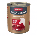 Консервирана храна за куче GranCarno SP Supreme Pure с един източник на протеин, с телешко месо, 800гр