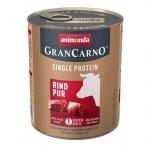 Консервирана храна за куче Animonda GranCarno SP Supreme Pure с един източник на протеин, с телешко месо, 400гр