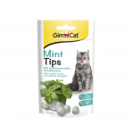 Лакомство за котки ментови дражета с котешка трева GimCat  Mint Tips, 40гр