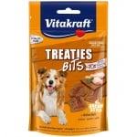 Лакомства за кучета Vitakraft TREATIES BITS, сочни хапки с пилешко месо, 140гр