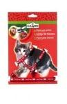 """""""Camon"""" - Комплект за котка повод + нагръдник"""