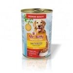 Хапки за кучета в сос Mr. Biffy, два вкуса, 415гр