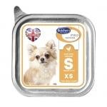 Butchers Pro series S  pate  - пастет за малки кучета до 5 кг. - 100 гр- два вкуса
