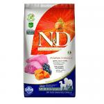 """""""N&D ADULT MED&MAXI PUMPKIN"""" - Пълноценна храна за кучета от средни и големи породи с тиква, агнешко и боровинки"""