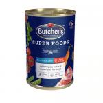 Хапки в желе за куче Butchers Super Foods 400 гр. - два вкуса