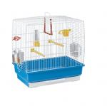 Правоъгълна клетка за канарчета, екзотични и малки птици - CAGE REKORD 2 н- два размера
