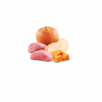 Пълноценна храна за кучета в зряла възраст N&D Pumpkin Boar&Apple ГЛИГАНСКО, ТИКВА & ЯБЪЛКА  - 285гр