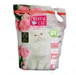 Силиконова тоалетна за котки Crystal Cat Premium 3.8l  - два аромата