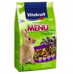 Храна за декоративни зайци с мащерка Vitakraft Premium Menu Vital, 1.00кг