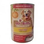 Хапки за кучета в сос Mr. Biffy, три вкуса, 1240гр