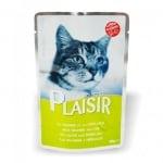 Пауч за коте Plaisir в сос Грейви 100гр - различни вкусове