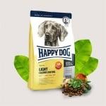 Happy Dog Light Calorie Control - Храна за кучета с ниско съдържание на въглехидрати - три разфасовки