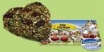 """""""Черешово сърце за гризачи"""" - С богато съдържание на билки и зеленчуци"""