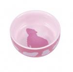 Керамична купа за морско свинче Trixie, 250 мл./ø 11 см.