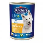 Пълноценна храна за кучета Butchers Life - БЕЗ глутен, различни вкусове, 1200 гр.
