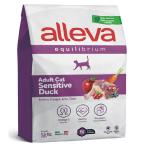 Хранa за възрастни котки с патешко Alleva® Equilibrium Sensitive Duck (Adult), 1.5 kg