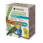 Храна за малък папагал Croci GRAN PASTO, със зеленчуци и бисквитки, 500гр