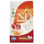 """""""N&D ADULT MINI PUMPKIN"""" - Пълноценна храна за кучета от дребни породи с тиква, пиле и нар"""