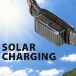 SOLAR NIGHT COLLAR-соларен цветен нашийник за куче с включено USB - два размера