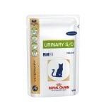 Royal Canin Urinary S/O Chicken - Pouch - заболявяане на долната част на уринарния тракт, уролитиаза при котки/с пилешко месо/ 100гр