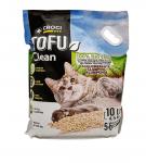 Натурална постелка за котешка тоалетна, тофу, Croci, 10 л