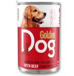 Храна за кучета месо в сос Golden Dog, 415 гр, различни вкусове